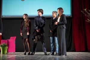 Il team di Yenetics durante la premiazione