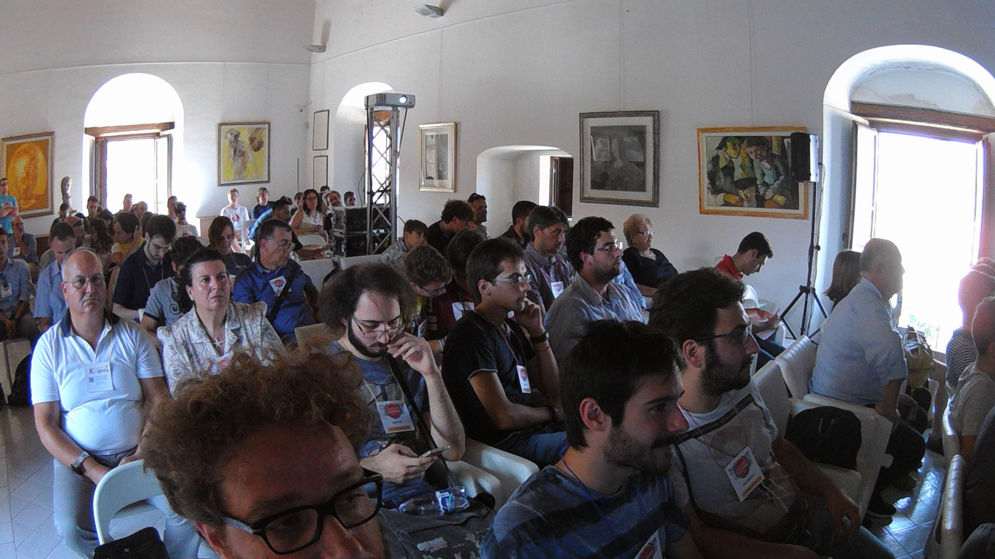 La Sala dell'Italian Games Fest 2016