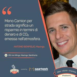 Antonio di Macingo, startup dei trasporti
