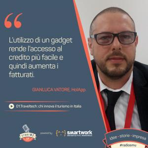 Gianluca Vatore di HolApp