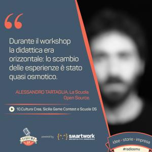 Alessandro Tartaglia Scuola Open Source
