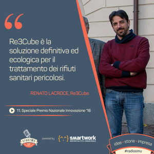 Renato Lacroce di Re3Cube