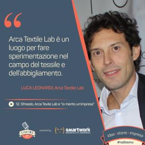 Luca Leonardi Arca Textile Lab