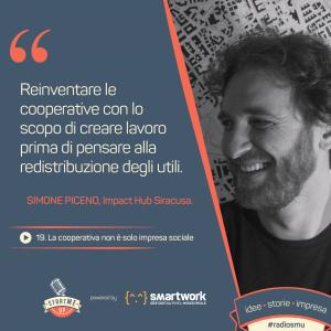 Simone Piceno, impact Hub Siracusa