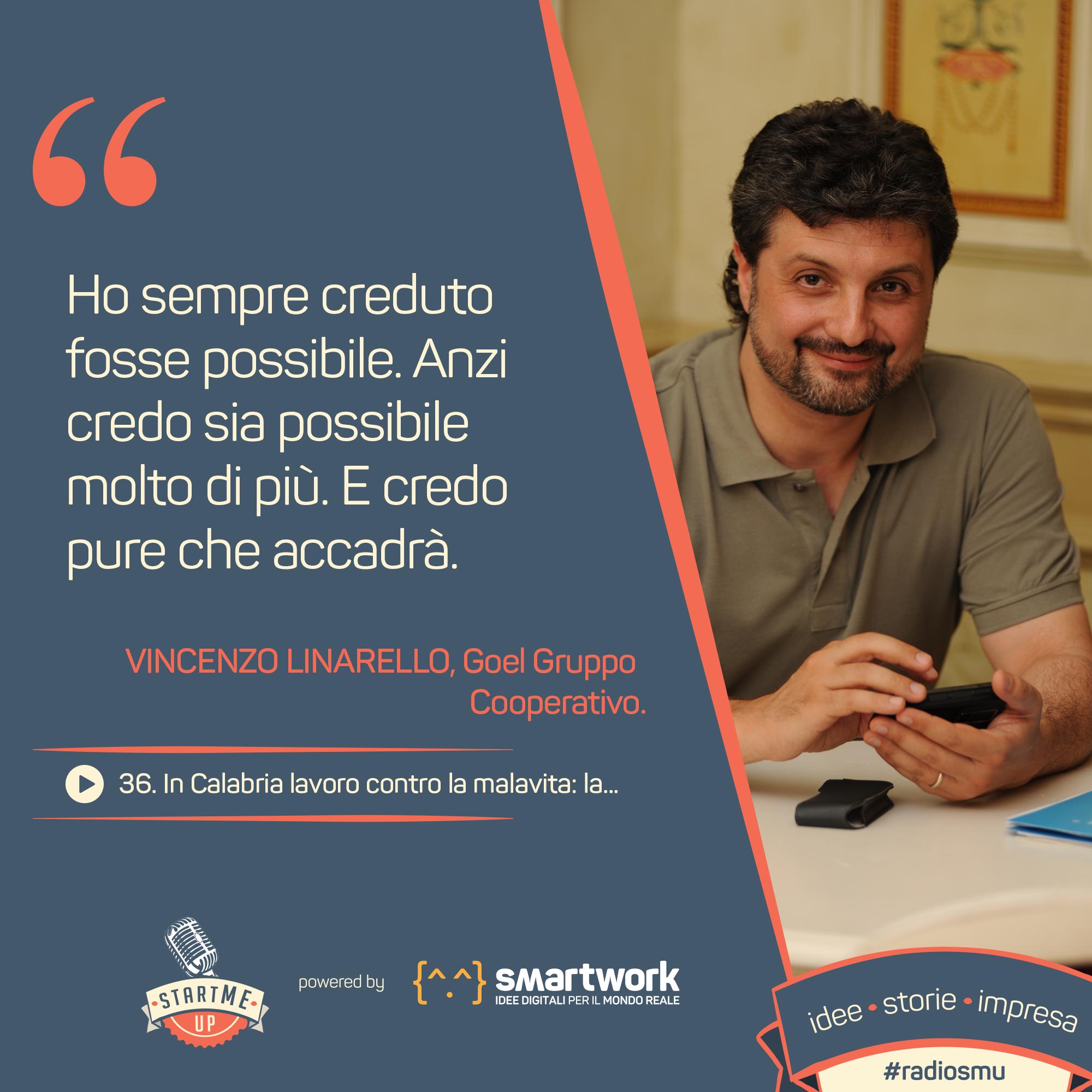 La citazione di Vincenzo Linarello
