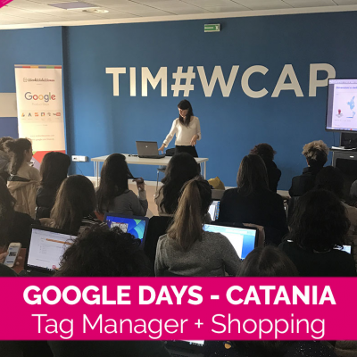 I Google Days tornano a Catania e Start Me Up ha un regalo per tutte le donne