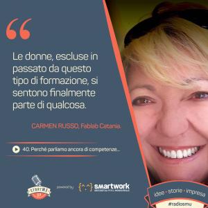 Carmen Russo competenze digitali