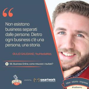 Citazione Giulio Gaudiano sul Business