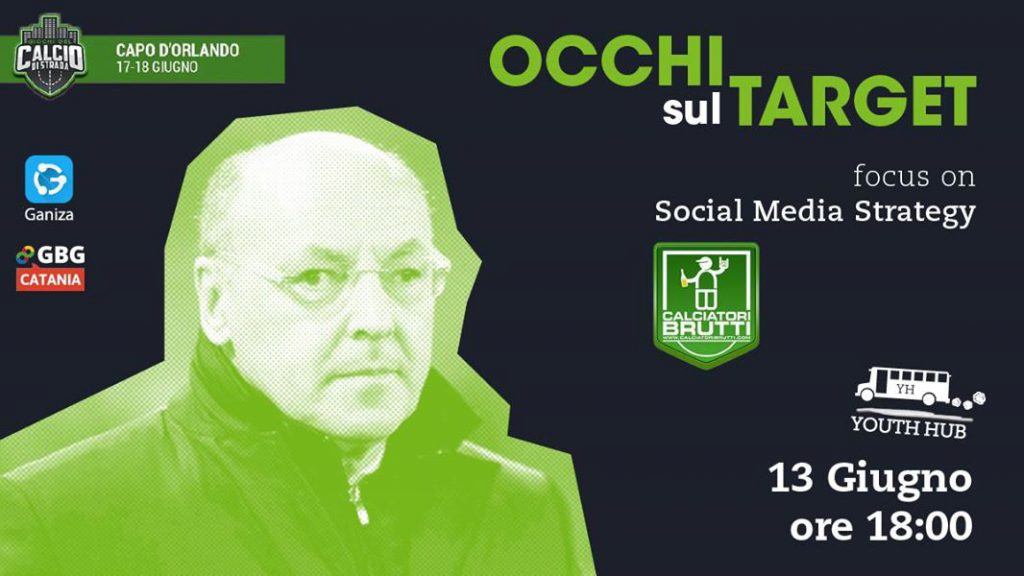 Occhi sul target - Social Media Strategy with CALCIATORI BRUTTI