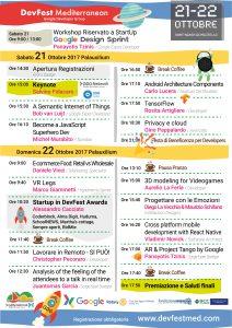Programma DevFest Sant'Agata