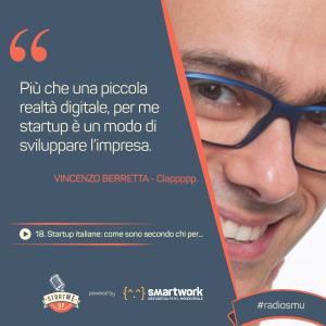 Citazione Vincenzo su Startup Italiane