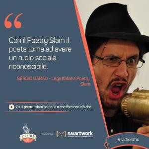 La citazione di Sergio sulla poesia
