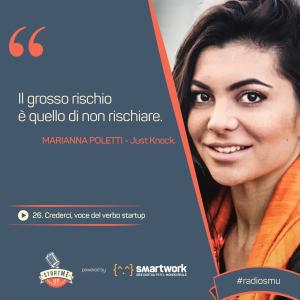 La citazione di Marianna di Just Knock