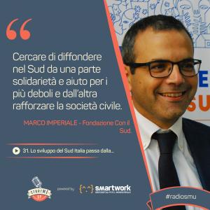 la citazione di Marco di Fondazione con il Sud sul Sud Italia