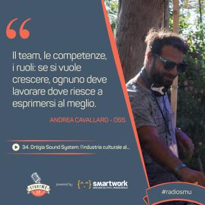 La citazione di Andrea dell'Ortigia Sound System