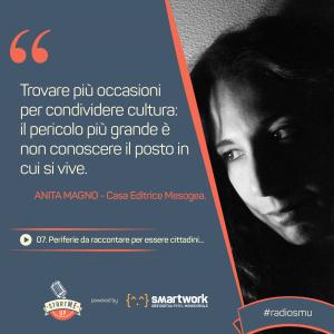 La citazione di Anita su Periferie e cultura