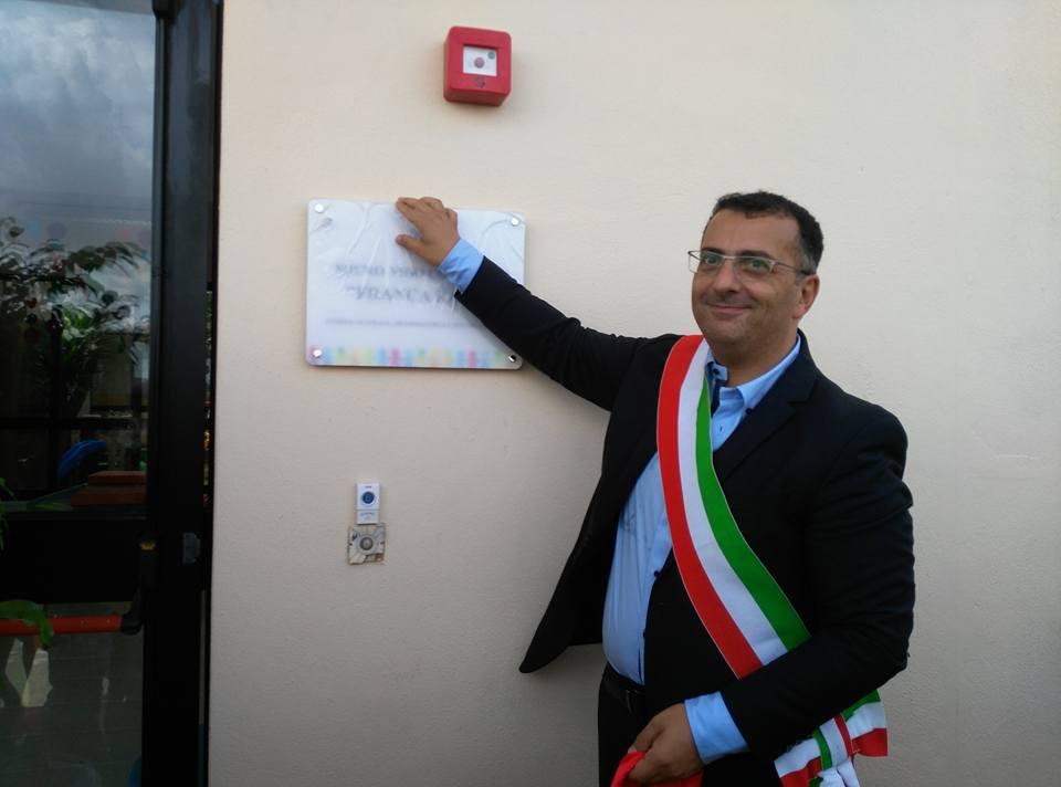 Il sindaco di Petrosino, Gaspare Giacalone