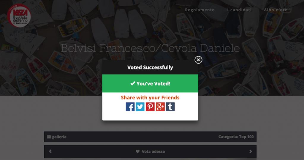 screen del voto a ocore