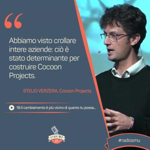 La citazione sul cambiamento e il Fallimento di Stelio Verzera di Cocoon Projects
