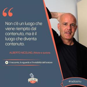 la citazione sul racconto di Alberto Nicolino