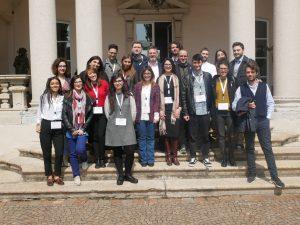 Il team che ha partecipato all'hackathon tra Nord e Sud Italia