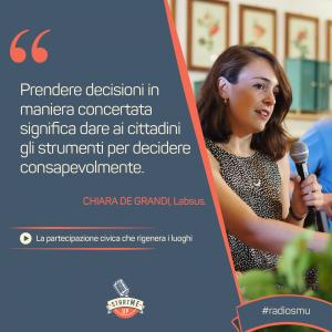 la citazione di Chiara su Messina Partecipa