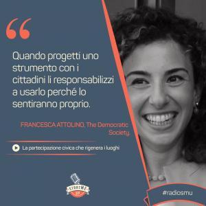 la citazione di Francesca su Messina Partecipa