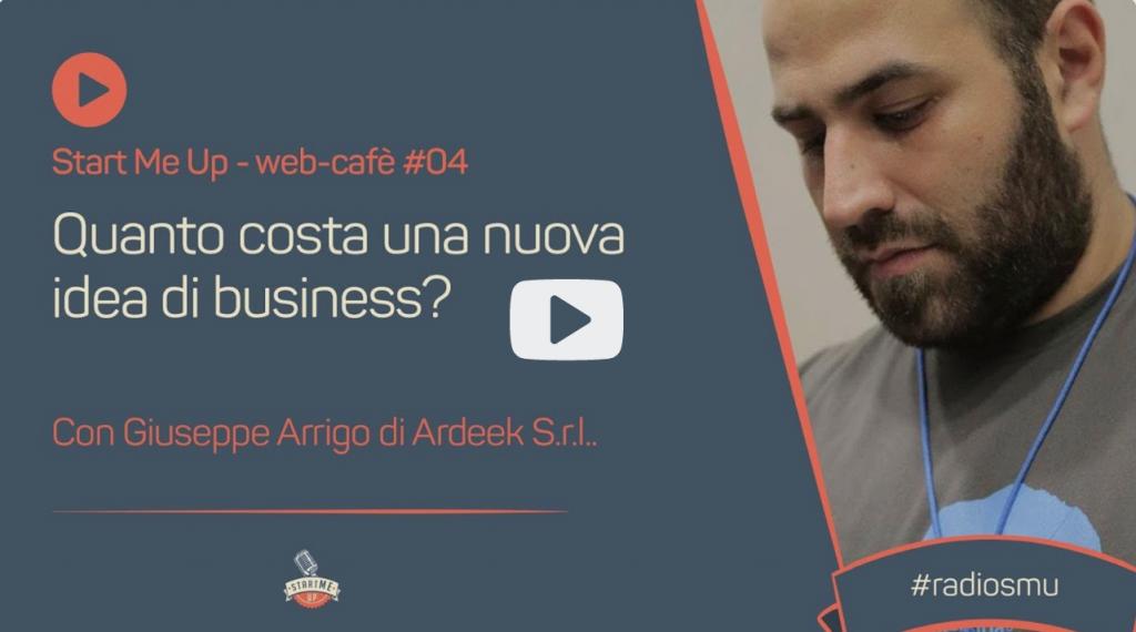 link al webcafe sul budget di Giuseppe Arrigo