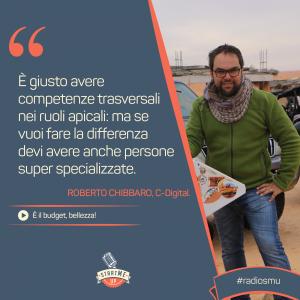 la citazione sulle competenze e sul budget di Roberto