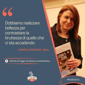 La citazione di Daniela di Libera, Foggia