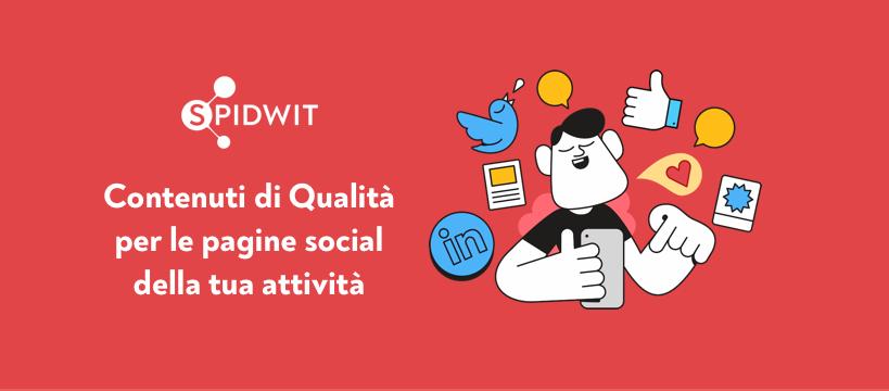 marchio di Spidwit, prima startup di casi studio, il format di patreon