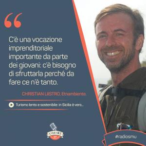 La citazione di Christian di Etnambiente su turismo lento e sostenibile