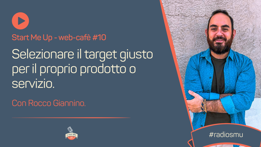 La copertina del web café con Rocco Giannino dedicata al target