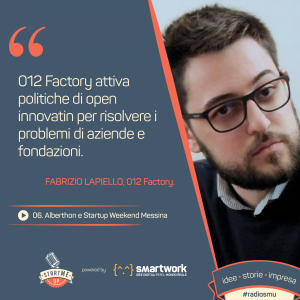 Fabrizio Lapiello di 012 Factory