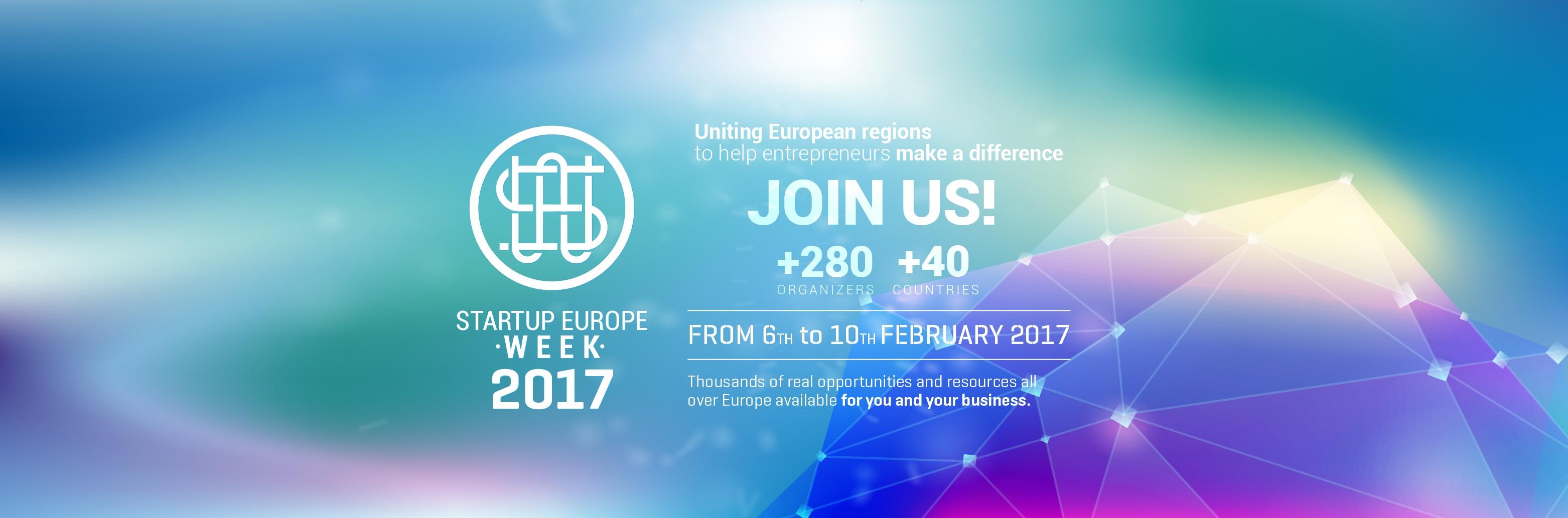 Startup Europe Week 2017