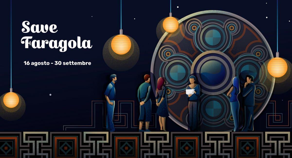 Coperttina dell'iniziativa Save Faragola