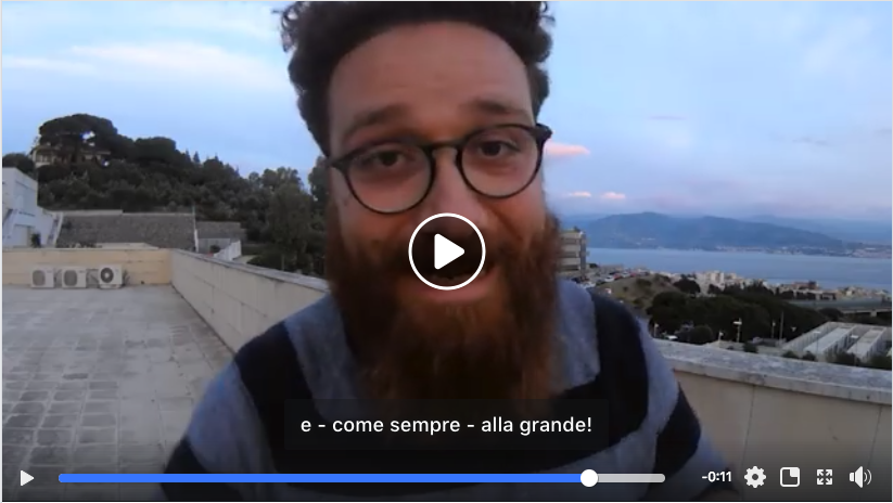Screenshot del video Patreon