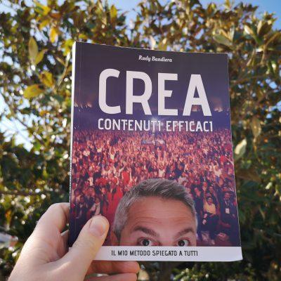 """copertina di """"Crea contenuti efficaci"""" di Rudy Bandiera"""