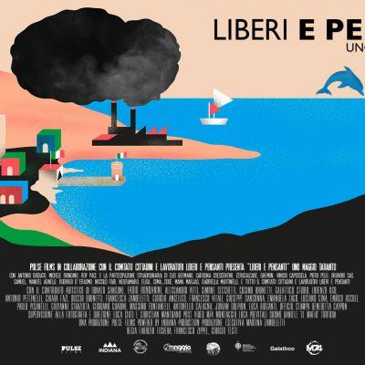 Copertina di Liberi e Pensanti, docufilm su Uno maggio Taranto