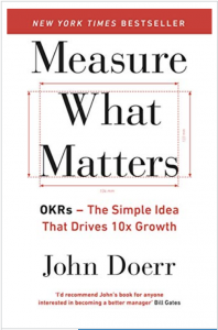 Measure what matters - misurare con gli okr