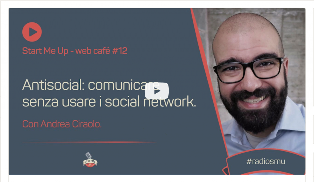 comunica senza usare i social network