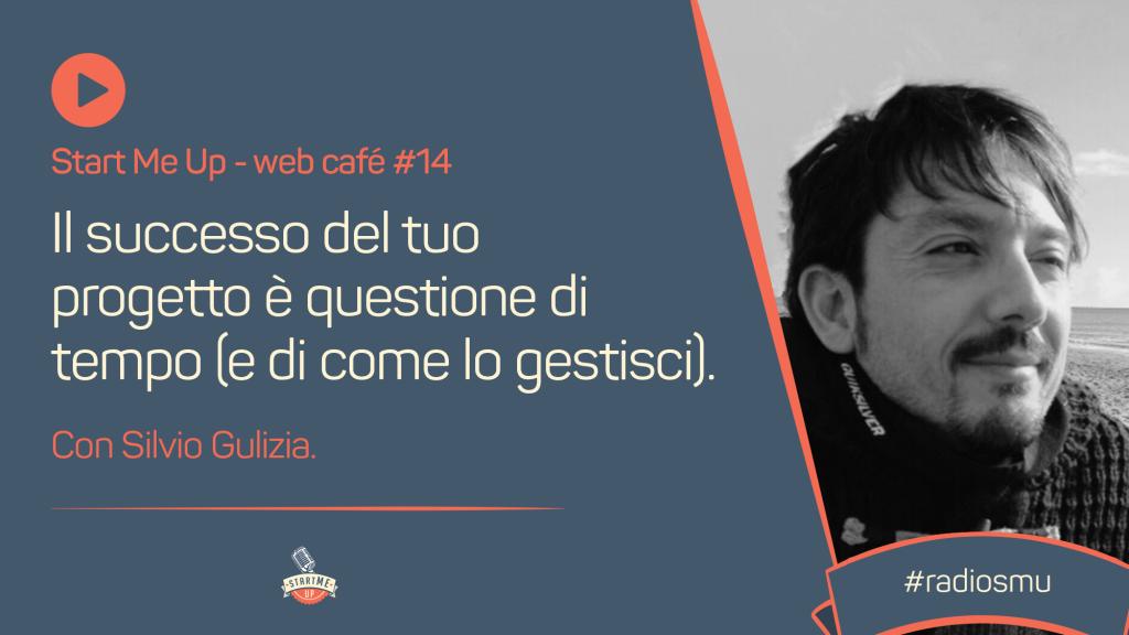 Copertina del web café sulla gestione del tempo con Silvio Gulizia