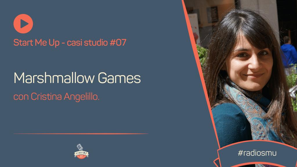 Copertina di Casi Studio con Cristina Angelillo di Marshmallow Games