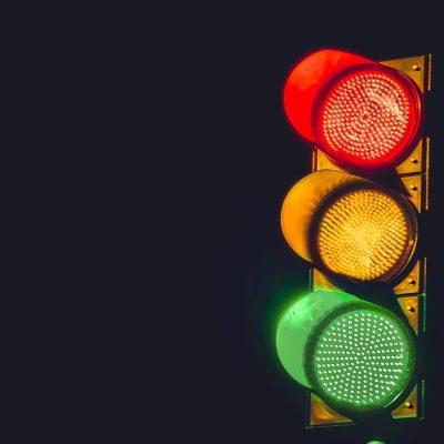 Il semaforo come luogo della creatività