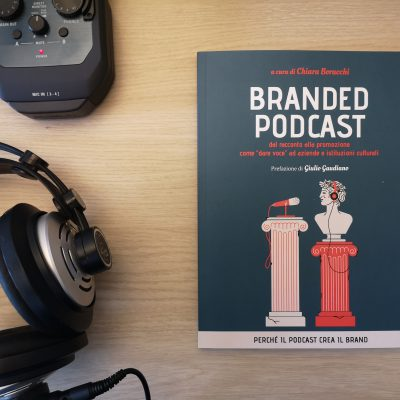 Copertina libro: Branded Podcast