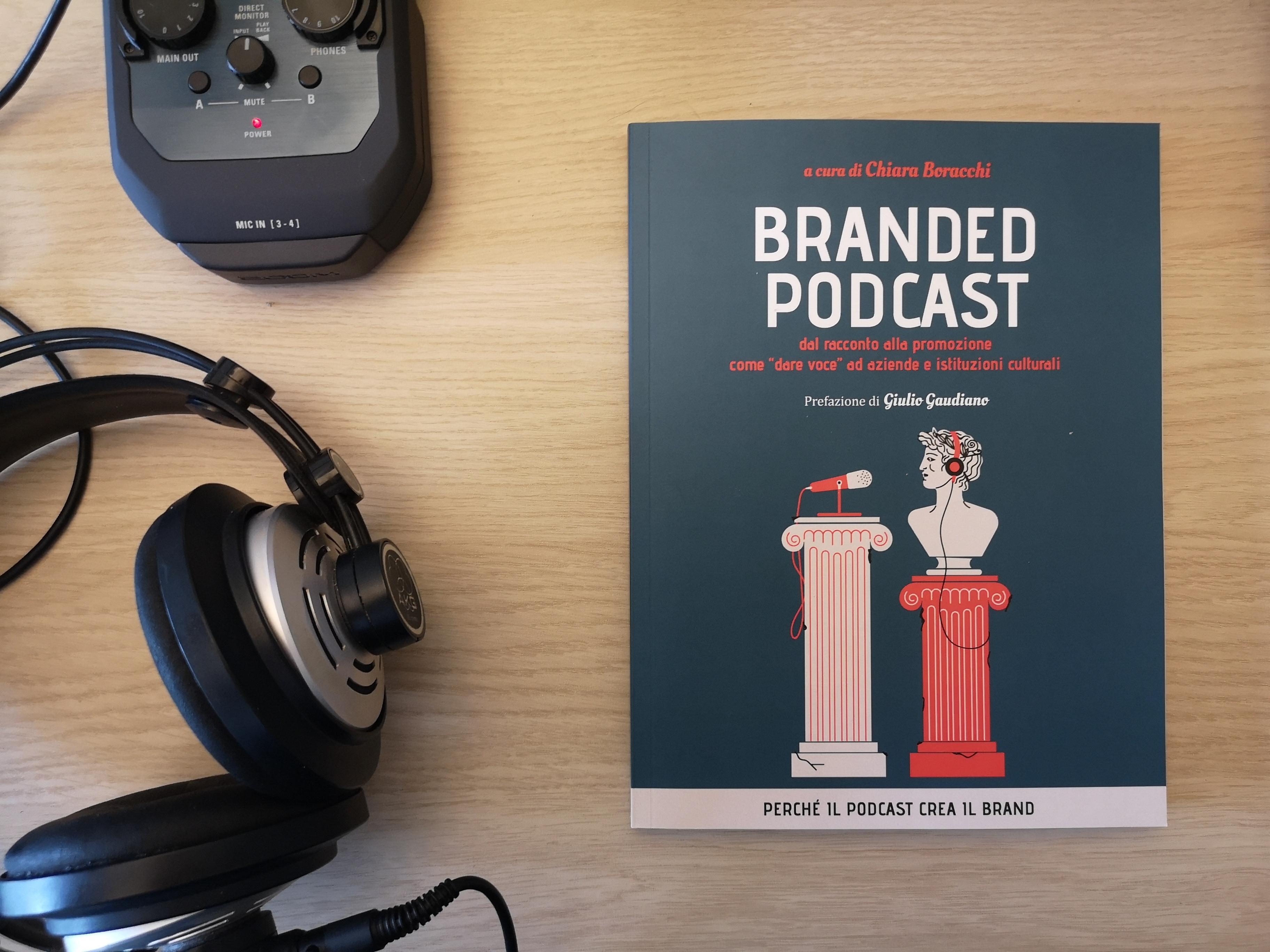 Copertina libro: Branded Podcast