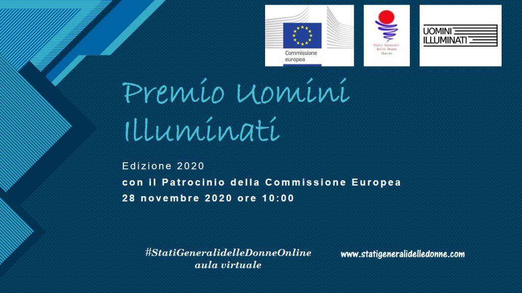 locandina premio uomini illuminati - dal Sud Giuseppe De Nicola
