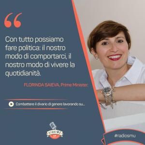 La citazione di Florinda su divario di genere