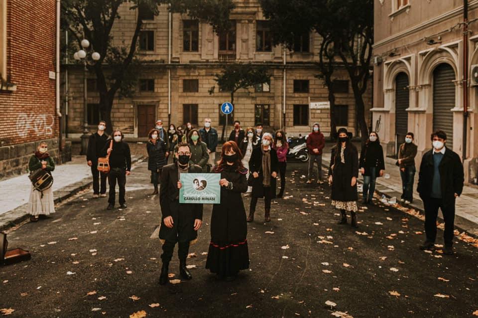 Delivery Theater di Carullo Minasi - pubblico Vittorio Emanuele