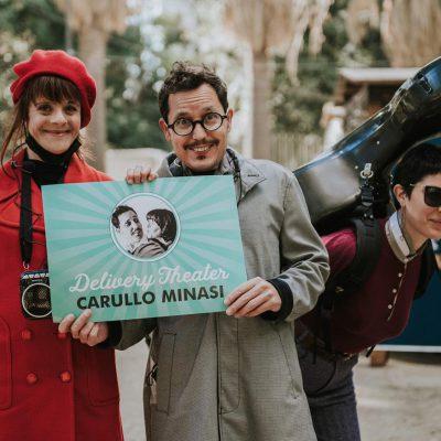 delivery theater di Carullo Minasi foto di presentazione
